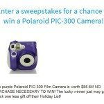 November 2015 Sweepstakes Countdown — Contest Now Closed